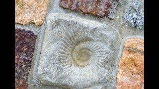 Alice-ART Gartenweg mit selbstgegossenen Steinen, Garden Path with self-casted Stones