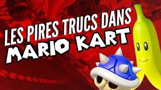 Top 8 des pires trucs qui t'arrivent à Mario Kart