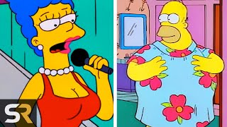 25 Rare Times The Simpsons Characters Wore Different Clothes