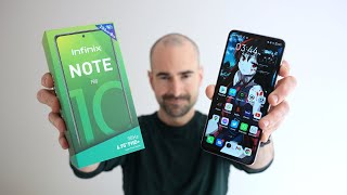 Infinix NOTE 10 Pro - Unboxing, Tour & Gaming Test