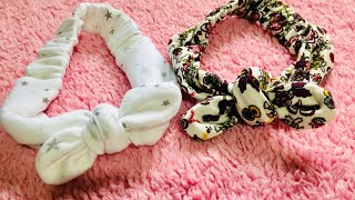 Baby Hair Band | Hair Band Making At Home|diy Headband|hair Accessories