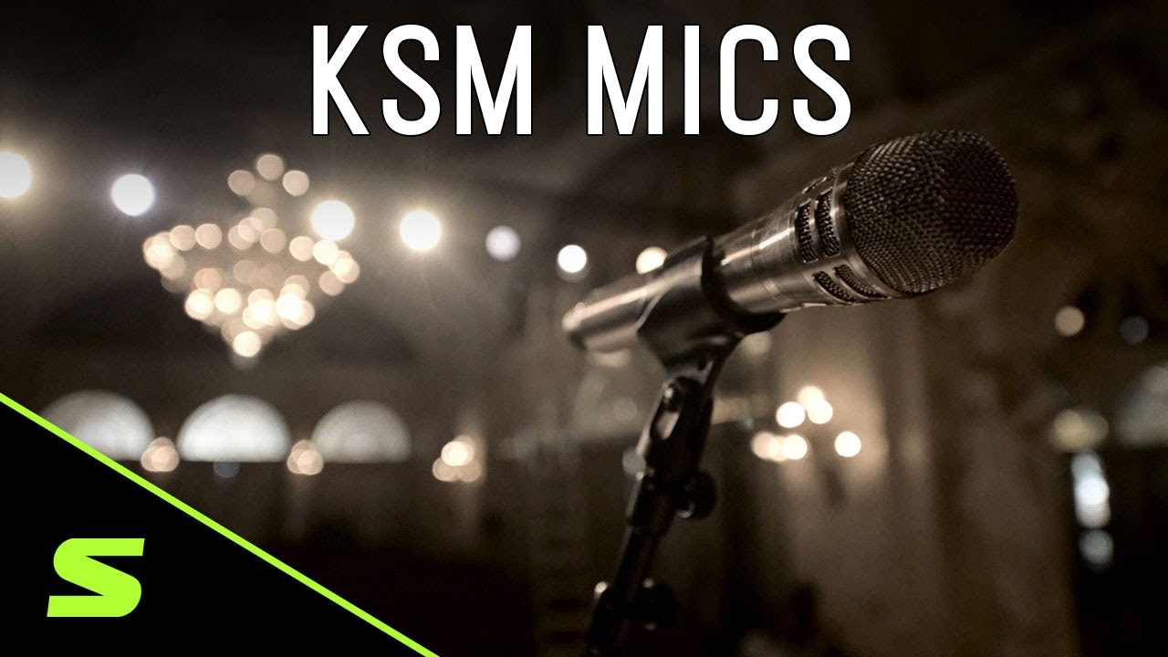 Shure KSM Microphones - Product Overview