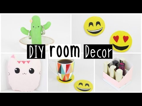 MORE DIY Room Decor 2016 – Four Inexpensive & EASY Ideas