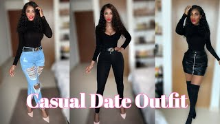 CASUAL DATE NIGHT OUTFITS | 5 Date OUTFIT IDEAS + LOOKBOOK #datenightoutfit #lookbook #casualoutfit