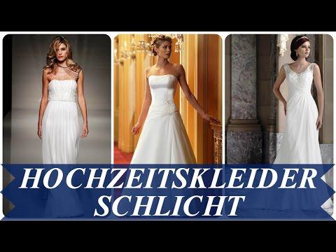 Hochzeitskleider schlicht