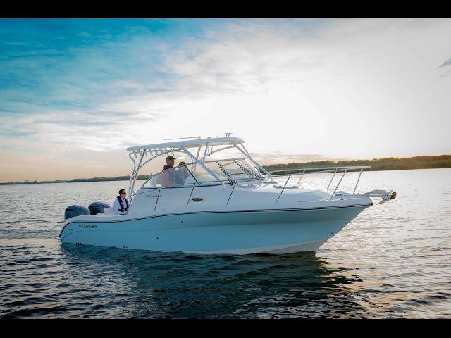 Century Boats | 30 Express | Walk Around Boats | Outboard Cruiser