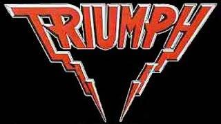 Triumph - Rocky Mountain Way (Joe Walsh cover) Lyrics on screen