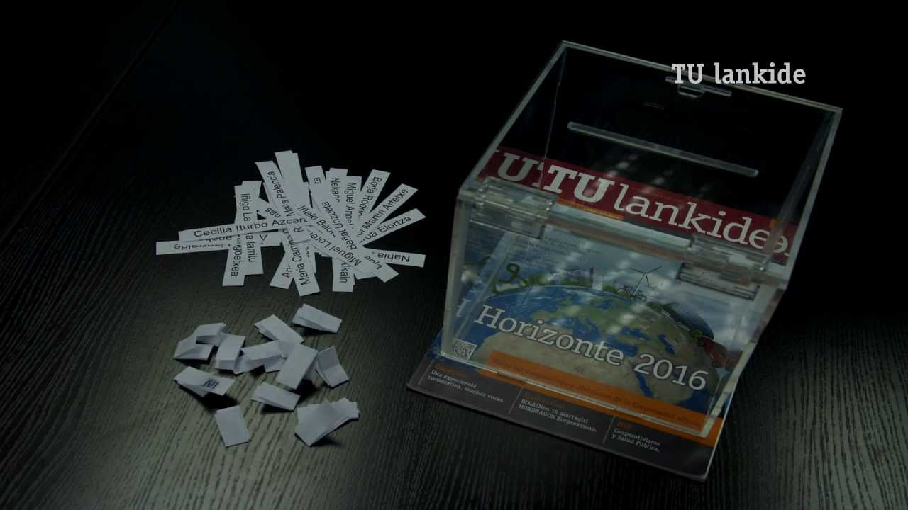 Eroski Bidaiak eta TU Lankideren zozketaren irabazlea nor izan den jakin nahi?