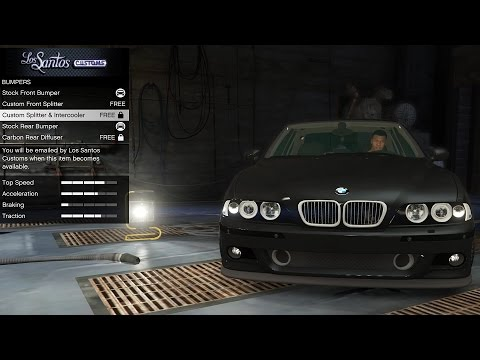 GTA 5 BMW E39 M5 - Real Car Mods