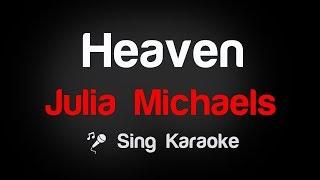 Julia Michaels   Heaven Karaoke Lyrics