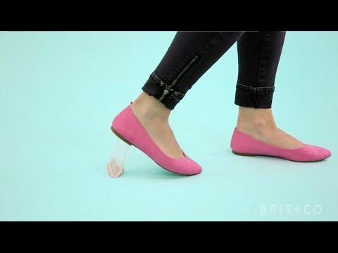 Как да почистите дъвка от обувки