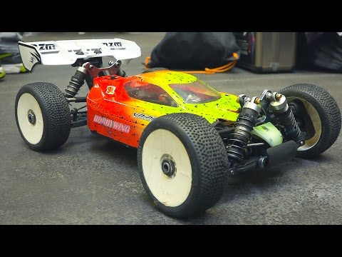 AWESOME RC RACE CAR 4WD OFF ROAD ACTION INDOOR*BUGGY/ Fair Erfurt Germany 2017
