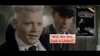 "What does Grindelwald Mean by ""Will We Die, Just a Little?"" in Fantastic Beasts? + Giveaway!"
