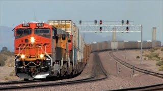HD: Cajon, Needles, Cima, And Mojave Subdivision Railfanning In July 2014