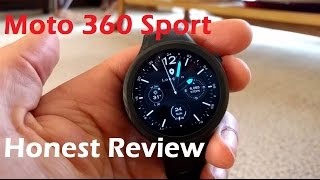 Moto 360 Sport - Honest Review