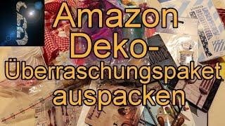 Amazon Deko-Überraschungspaket auspacken