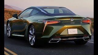 2020 Lexus LC 500 Inspiration Series   Exclusive Nori Green Color