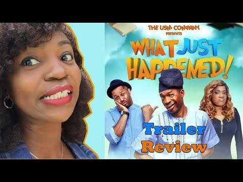 WHAT JUST HAPPENED MOVIE TRAILER REACTION!