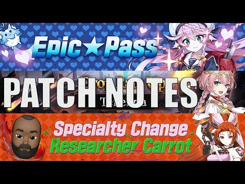 New Special Shop/Epic Pass/Carrot Specialty Change/Tenebria- Patch Notes(9/18/2019): Epic Seven