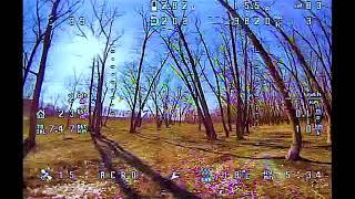 FPV квадрокоптер пробные полеты 2