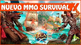 ATLAS - Nuevo MMO de supervivencia de los creadores de ARK: Survival Evolved