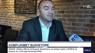 RTK3 Lajmet e orës 13:00 12.01.2020