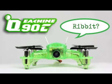 Eachine Q90C FPV review - 2s FPV starter kit with rate mode!