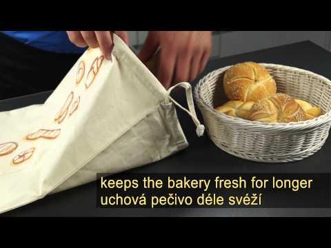 Торба за съхранение на хляб Tescoma 4Food