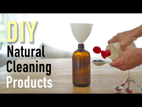 DIY Natural Cleaning Products | Cleaning Routine Hacks