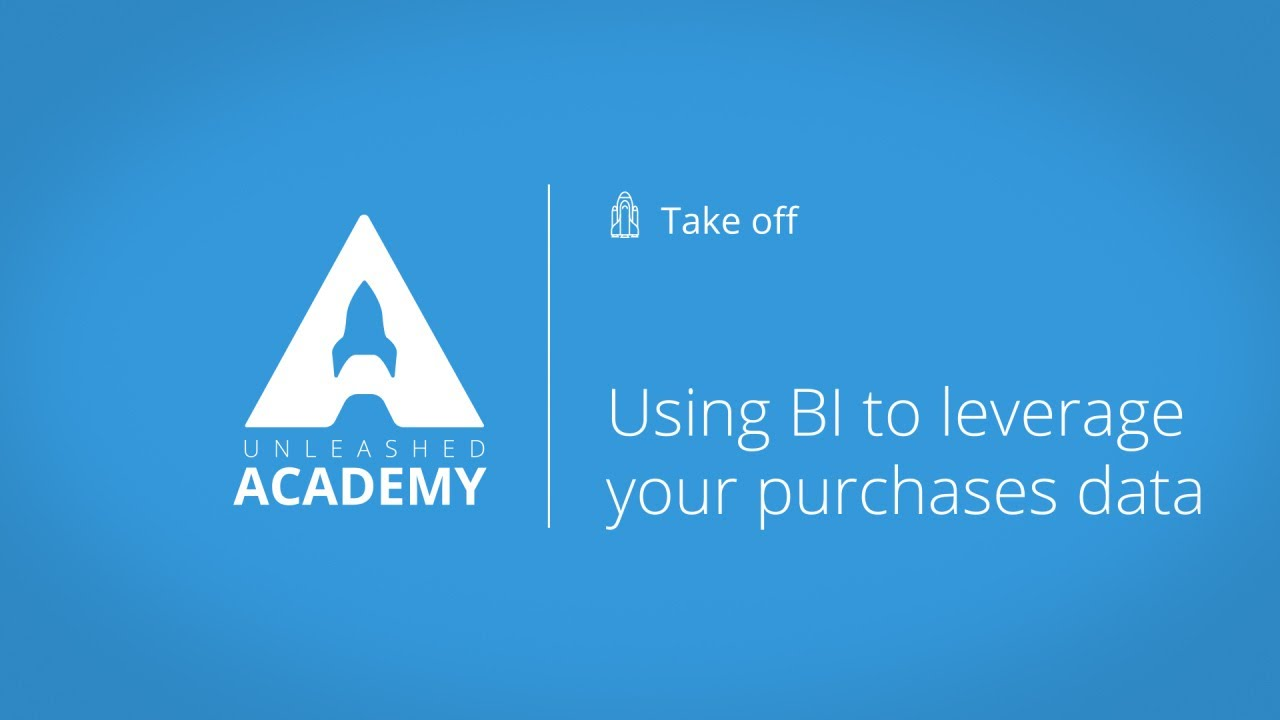 Using BI to leverage your purchases data YouTube thumbnail image