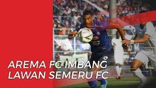Arema FC Ditahan Imbang oleh Semeru FC dalam Laga Uji Coba