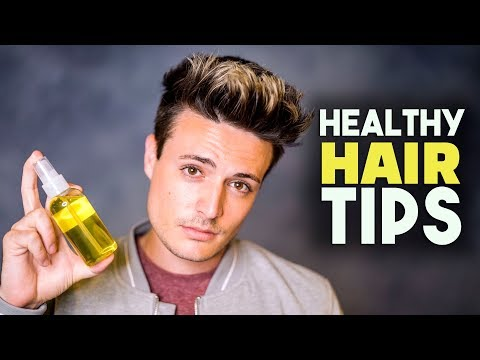 5 MUST KNOW Healthy Hair Tips for Men | BluMaan 2018