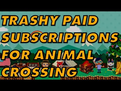 Animal Crossing: Pocket Camp's TWO Subscription Services Are Pretty Grotesque