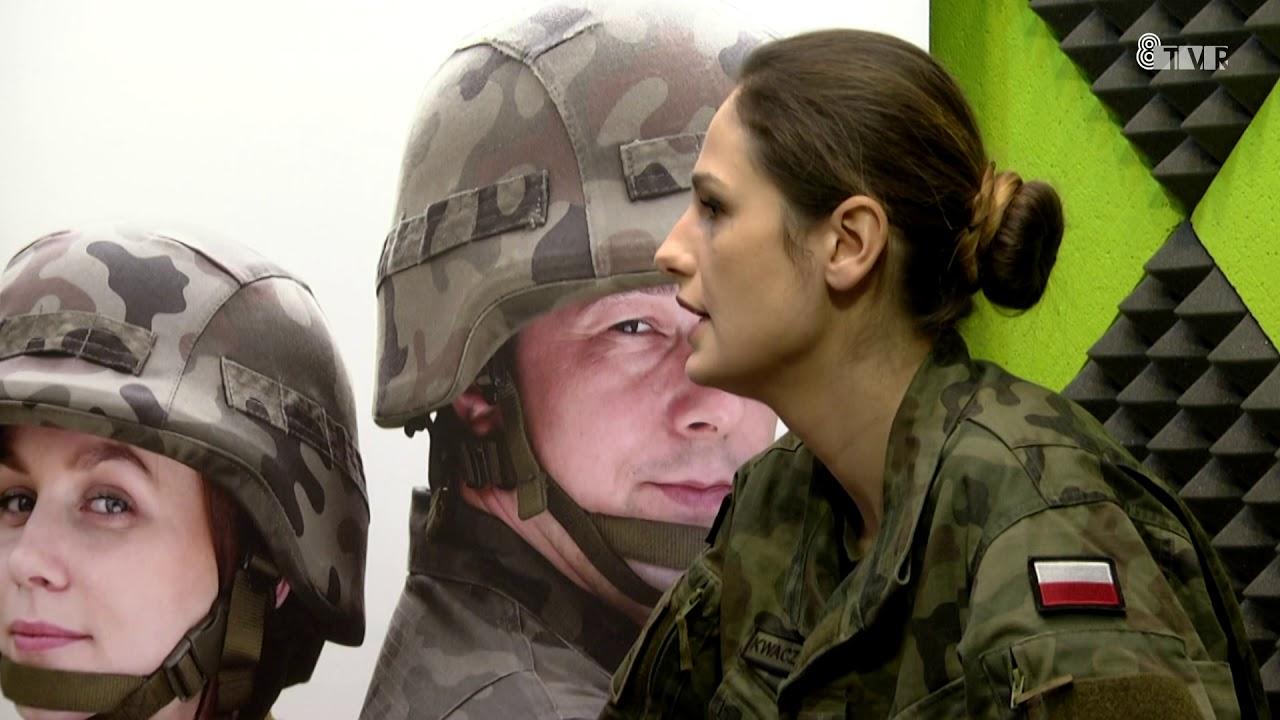 Pytanie do… – rozmowa z ppłk Piotrem Chrzanowskim i porucznik Dominiką Kwaczyńską