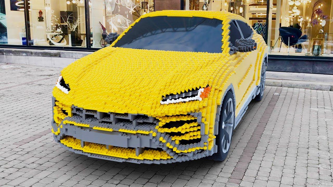 LEGO Lamborghini Urus (300,000+ Bricks)