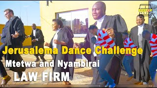 Mtetwa and Nyambirai Law Firm Jerusalema Dance Challenge @Openmic Productions