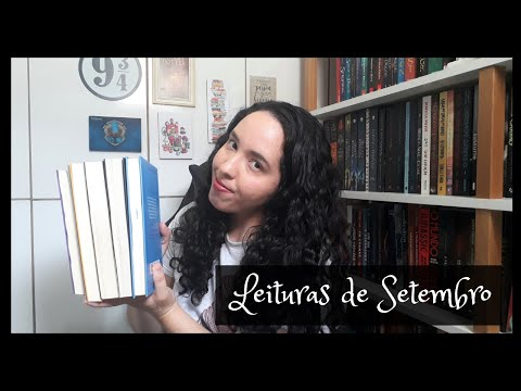 Vlog de Leituras de Setembro (2020) | Um Livro e Só