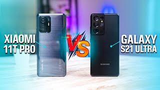 Xiaomi 11T Pro vs Samsung Galaxy S21 Ultra 5G: Best Android Smartphone?
