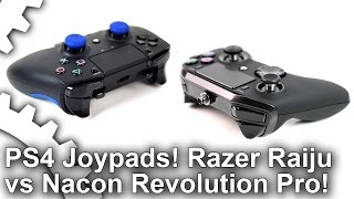PS4 Premium Joypads: Razer Raiju vs Nacon Revolution Pro!