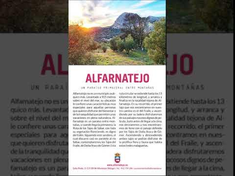 Video promoción turística Alfarnatejo