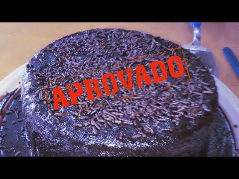 como fazer  o Melhor bolo de cenoura com cobertura de chocolate que já fiz | Preto Na Cozinha|