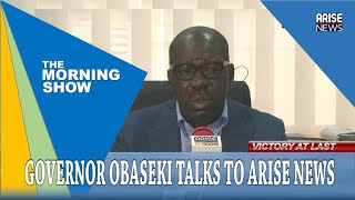 """""""There will be no mercy if Oshiomhole and his cohorts disturb Edo peace"""" -Governor Obaseki"""