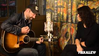Folk Alley Sessions Jeffrey Foucault And <b>Kris Delmhorst</b>  Left This Town