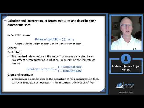 Portfolio Risk and Return: Part I (2019 Level I CFA® Exam ...