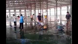 Tổng vệ sinh nhà xưởng sau xây dựng uy tín, chuyên nghiệp, giá cạnh tranh, chất lượng