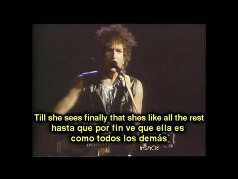 BOB DYLAN - JUST LIKE A WOMAN (AUSTRALIA 1986) ESPAÑOL ENGLISH