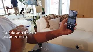 Demonstrating Air Control with the Samsung Galaxy Note10
