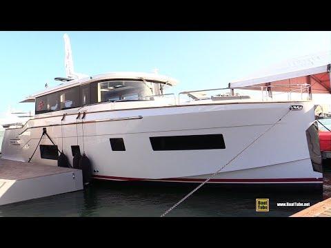 2020 Sirena 58 Coupe - Walkaround Tour - Debut at 2020 Miami Yacht Show
