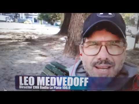 """Leo Medvedoff: """"la CNN en La Plata es el sueño de cualquier comunicador"""""""