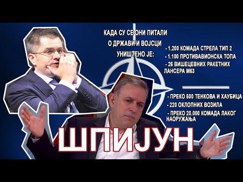Potpredsednik Narodne stranke i bivši načelnik Generalštaba Vojske Srbije Zdravko Ponoš jeste špijun, koji je doneo mnogo zla svojoj vojsci, izjavio je danas ministar odbrane Aleksandar Vulin.